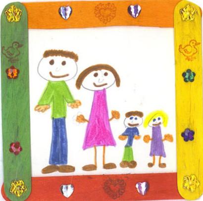 Gia đình bạn gồm những ai?