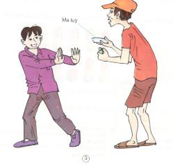 """Thực hành kĩ năng từ chối : Nói """"Không !"""" đối với các chất gây nghiện"""