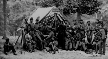 Trình bày diễn biến và kết quả cuộc nội chiến ở Mĩ