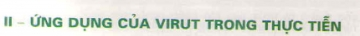 Ứng dụng của virut trong thực tiễn
