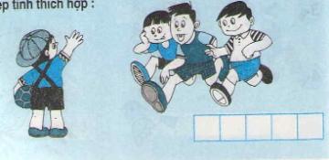 Bài 1, bài 2, bài 3, bài 4 trang 48 sgk toán lớp 1