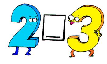 Bài 1, 2, 3, 4, 5 trang 14 sgk toán 2