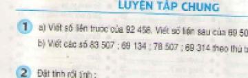 Bài 1, bài 2, bài 3, bài 4, bài 5 Tiết 173 trang 179 sgk Toán 3
