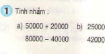 Bài 1, bài 2, bài 3  Tiết 163 trang 170 sgk Toán 3