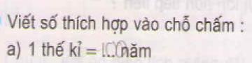 Bài 1 trang 156 sgk toán 5