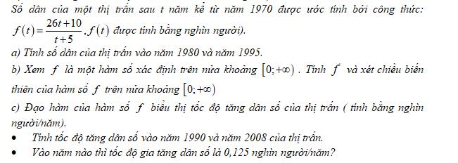 Bài 10 trang 9 SGK Đại số và Giải tích 12 Nâng cao