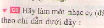 C9 trang 29 sgk Vật lí lớp 7
