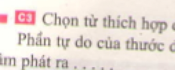 C3 trang 32 sgk Vật lí lớp 7