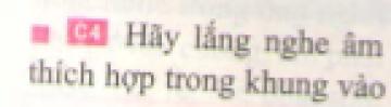 C4 trang 32 sgk Vật lí lớp 7