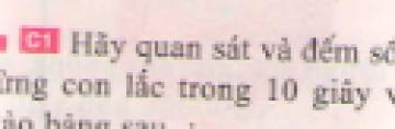 C1 trang 31 sgk Vật lí lớp 7