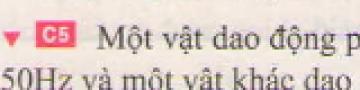 C5 trang 33 sgk Vật lí lớp 7