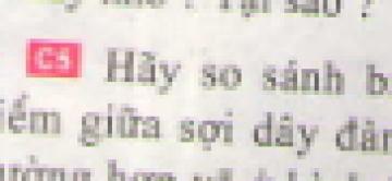 C5 trang 36 sgk Vật lí lớp 7