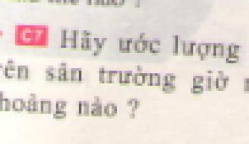 C7 trang 36 sgk Vật lí lớp 7