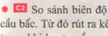 C2 trang 37 sgk Vật lí lớp 7