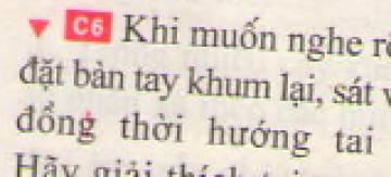 Bài C6 trang 41 sgk vật lí 7