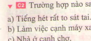 Bài C2 trang43 sgk vật lí 7