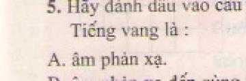 Bài 5 trang 45 sgk vật lý 7