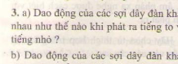 Bài 3 trang 46 sgk vật lý 7