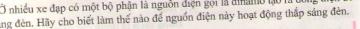 Bài C6 trang 54 sgk vật lý 7