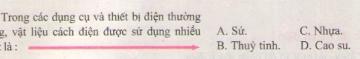 Bài C8 trang 57 sgk vật lý 7