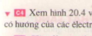 C4 trang 59 sgk Vật lí lớp 7