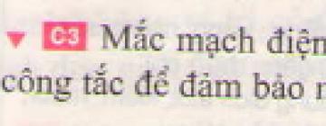 C3 trang 58 sgk Vật lí lớp 7