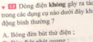 C8 trang 62 sgk Vật lí lớp 7