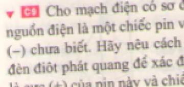 C9 trang 62 sgk Vật lí lớp 7