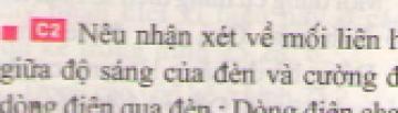 C2 trang 67 sgk Vật lí lớp 7
