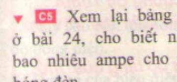 Bài C5 trang 83 sgk vật lí 7