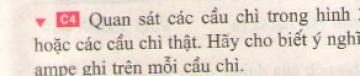 Bài C4 trang 83 sgk vật lí 7