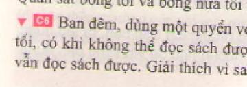 Bài C6 trang 11 sgk vật lí 7