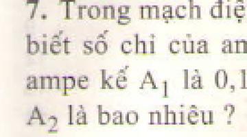 Bài 7 trang 87 sgk vật lí 7