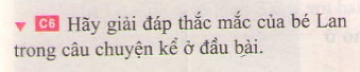 Bài C6 trang 17 sgk vật lí 7
