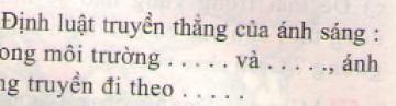 Bài 3 trang 25 sgk vật lý 7
